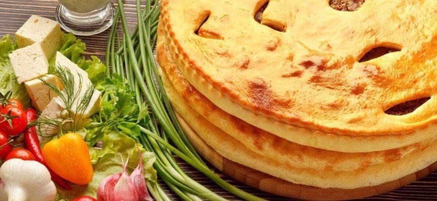 Готовим начинку и тесто для осетинских пирогов: рецепты осетинских пирогов