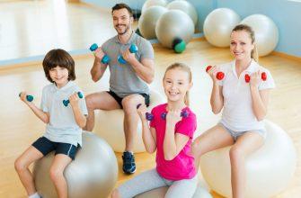 Семейный фитнес объединяет!!!