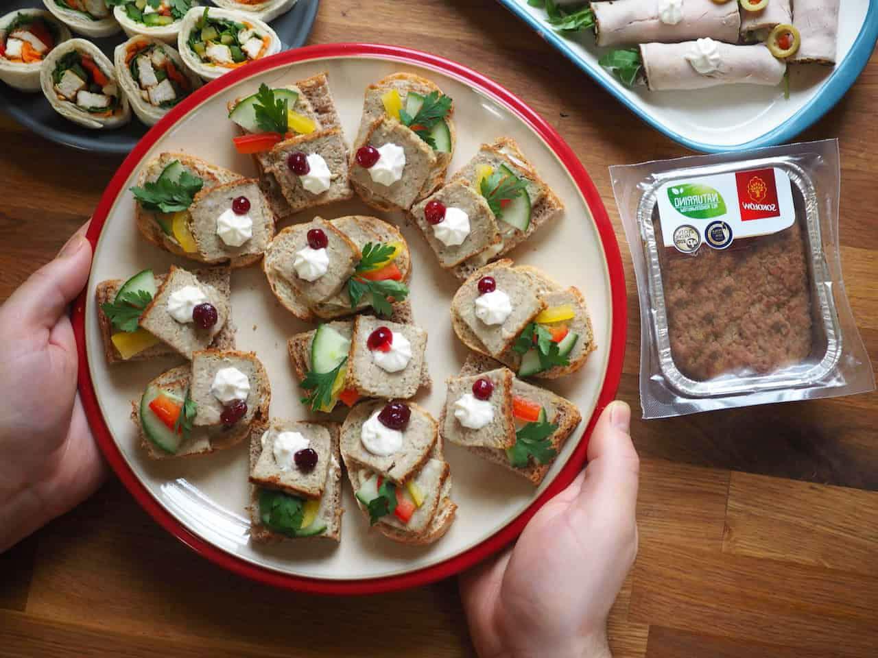 3 рецепта быстрых закусок на праздничный стол