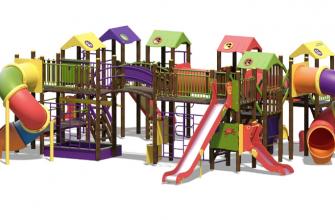 Детские городки: безопасно ли это и как их производят?