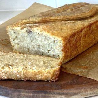 Банановый хлеб без пищевой соды