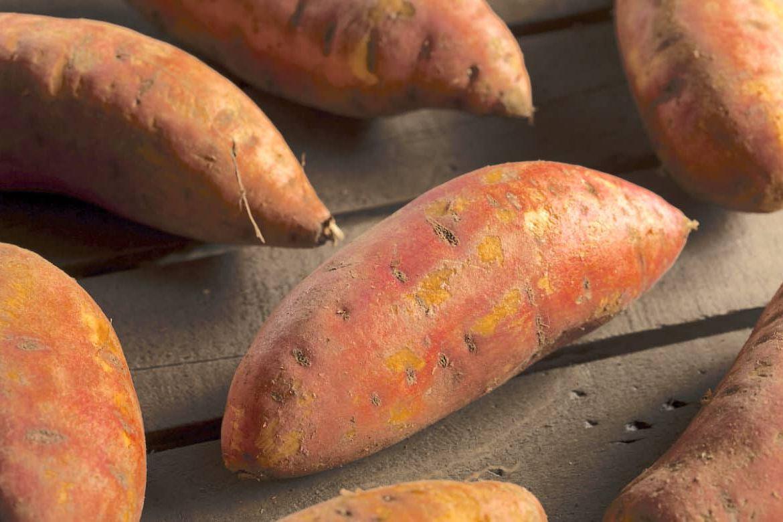Черные пятна на сладком картофеле (батате) - что это значит?