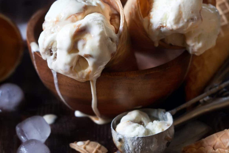 Можно ли повторно заморозить растаявшее мороженое?