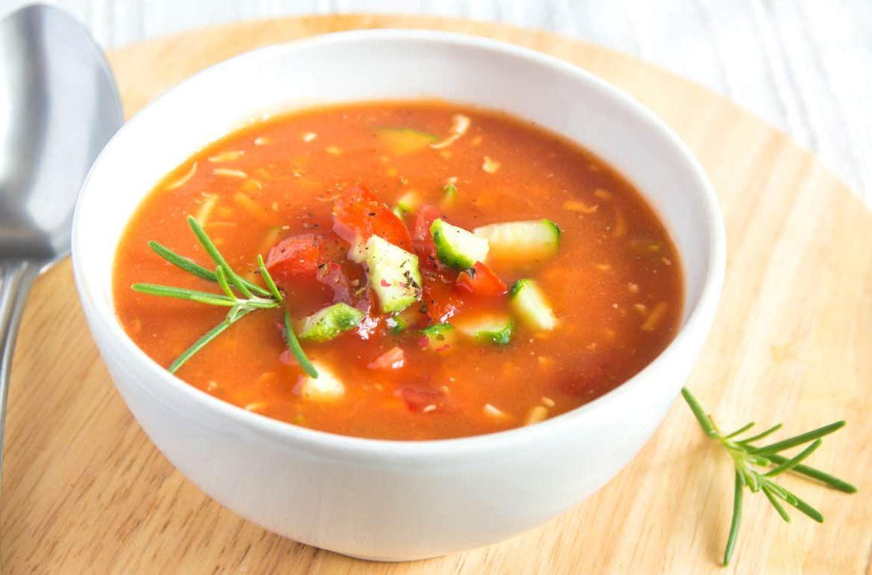 Можно ли заморозить суп гаспачо и как это правильно делать?