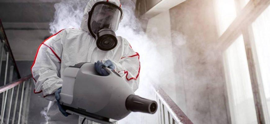 Дезинфекция с помощью холодного тумана: что это и как работает?