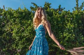 Модные ткани для летнего платья в различных вариантах дизайна