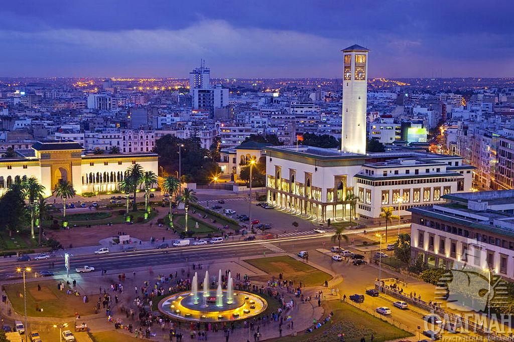 Путешествие по Марокко: город Касабланка