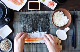 Как правильно приготовить рис для роллов?