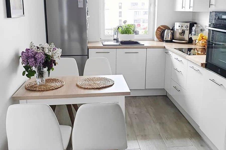 практичность и минимализм в кухнях на заказ