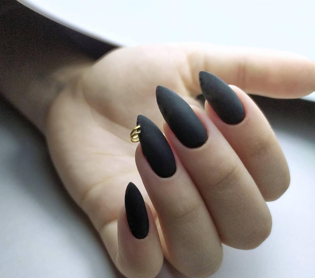 Украшение ногтей: пирсинг