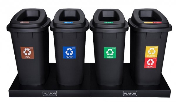 Контейнеры для раздельной сортировки мусора